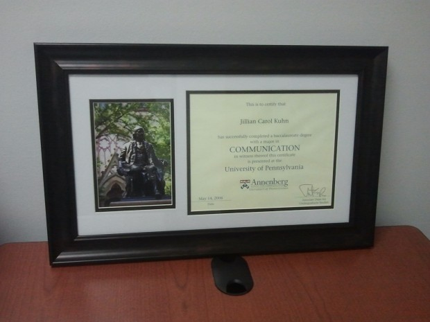University of Pennsylvania Communications Certificate