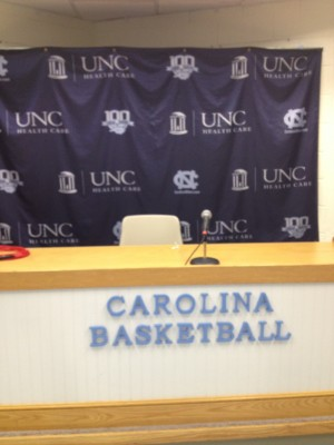 Carolina press room