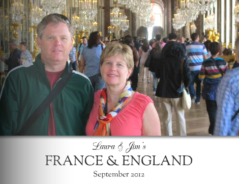 Laura & Jim's France & England Mixbook