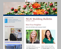 NCJC Building Bulletin: October 2012