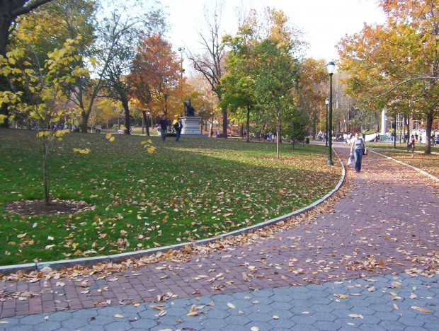 College Green at the University of Pennsylvania