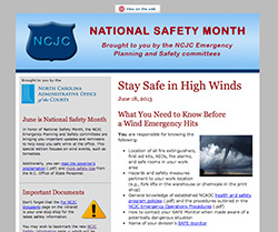 NCJC High Wind Safety Newsletter